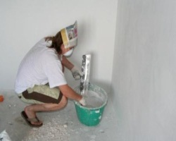Подготовка стен к проведению ремонта