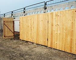 Применение деревянных заборов