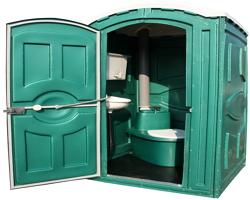 Берем в аренду туалетные кабинки