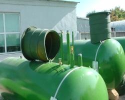 Автономная газификация с помощью газгольдера