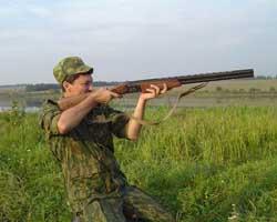 Охотничье комбинированное оружие