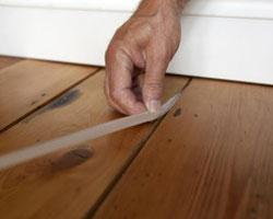 Как можно быстро утеплить деревянный пол