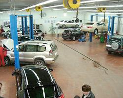 Оборудование для автомобильных сервисов