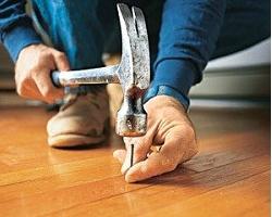Современный ремонт деревянного пола