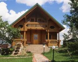 Лучшие дома из бревна от В А Империя