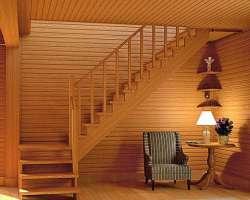 Особенности деревянных лестниц на 2 этаж