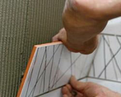 облицовке поверхностей керамическими