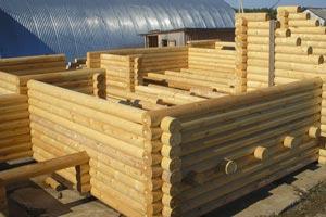 Nforestru: деревянные дома из бревна