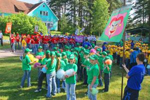 Комфортабельные детские лагеря