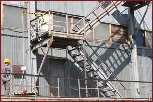 Методы испытаний пожарных лестниц