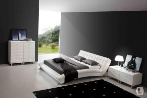 Кожаные кровати роскошь для истинных ценителей