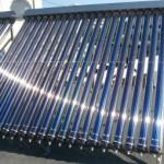 Как установить солнечный водонагреватель
